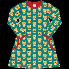 Maxomorra Cat LS Dress