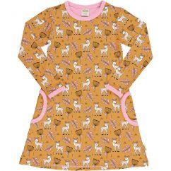 Meyadey Poppy Deer LS Dress