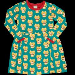Maxomorra Cat LS Spin Dress