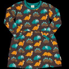 Maxomorra Dinosaur LS Spin Dress