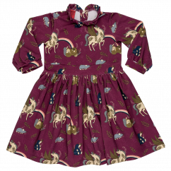 Raspberry Republic Unicorn Crew Dress