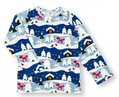 JNY Snowy Cottage Top