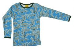 DUNS Dill Blue Long Sleeve Top