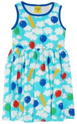 DUNS A Cloudy Day Twirly Gathered Dress