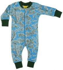 DUNS Dill Blue Zip Rompersuit
