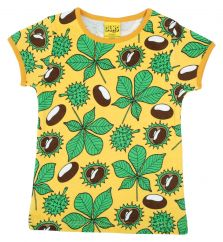 DUNS Chestnut Daffodil Yellow T-shirt