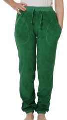 DUNS Juniper Green Terry Trousers ADULT