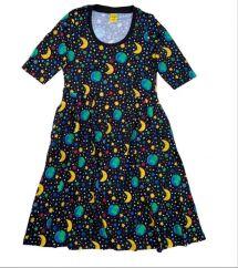 DUNS Mother Earth Black Scoop Dress LADIES