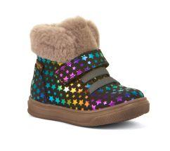Froddo Rainbow Stars Waterproof Ankle Boots