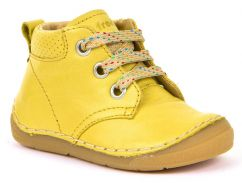 Froddo Yellow Shoes with Laces
