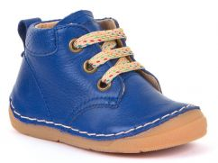 Froddo Electric Blue Shoes with Laces