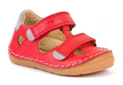 Froddo Red Closed Toe Sandals
