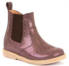Froddo Pink/Purple Chelsea Boots
