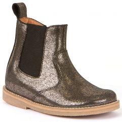 Froddo Bronze Metallic Chelsea Boots