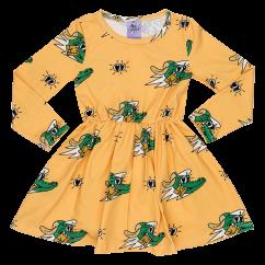 Jelly Alligator Golden Gator Yellow Dress