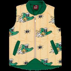 Jelly Alligator Golden Gator Yellow Explorer Vest