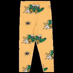 Jelly Alligator Golden Gator Yellow Leggings