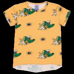 Jelly Alligator Golden Gator Yellow T-shirt