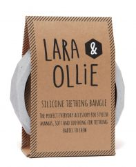 Lara and Ollie granite teething bangle