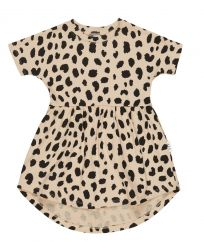 Huxbaby Leopard Spot Swirl Dress