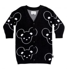 Huxbaby mouse knit cardigan