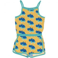 Maxomorra Hippo Short Jumpsuit