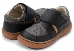 Livie and Luca Maverick Black Herringbone