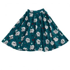Raspberry Republic A Wolf In Disguise Skirt