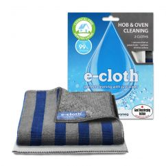 E-cloth hob and oven cleaning cloths
