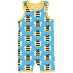 Maxomorra Humble Bumblebee Shortie Dungarees