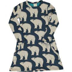 Maxomorra Polar Bear Dress