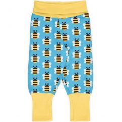 Maxomorra Humble Bumblebee Rib Pants