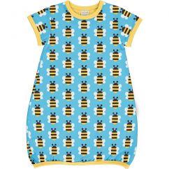 Maxomorra Humble Bumblebee SS Balloon Dress