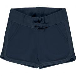 Maxomorra Navy Runner Sweat Shorts