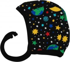 DUNS Mother Earth Black Baby Bonnet