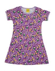 DUNS Meadow Purple Dress