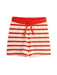 Mini Rodini Red Stripe Shorts