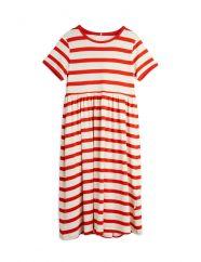 Mini Rodini Red Stripe Dress