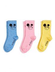 Mini Rodini Ritzratz 3-pack Socks