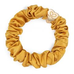 byeloise hairtie mustard silk scrunchie