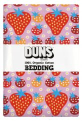 DUNS strawberry purple bed set