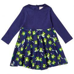 Piccalilly Frog Skater Dress