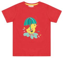 Piccalilly Duckling Applique T-shirt