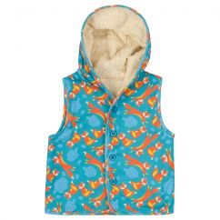 Piccalilly Foxes Gilet