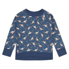 Piccalilly Narwhals Sweatshirt
