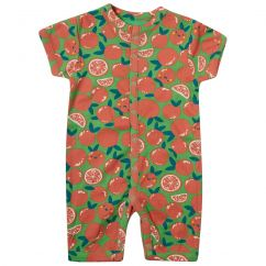 Piccalilly Oranges Shortie Romper