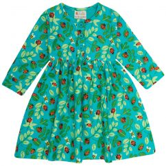 Piccalilly Ladybird Button Dress