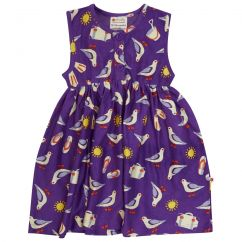 Piccalilly Seagulls Button Dress