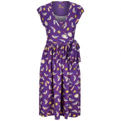 Piccalilly Seagulls Wrap Dress LADIES