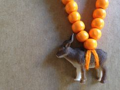 Pray4Trax Necklace Goat (orange)